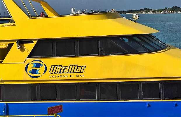 Ferry de Playa del Carmen a Cozumel