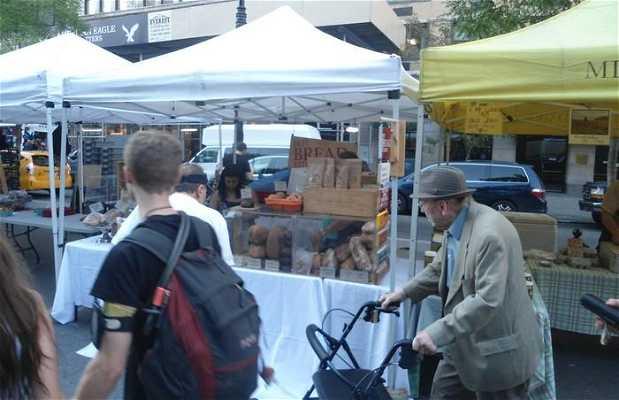 Mercado bio de Union Square