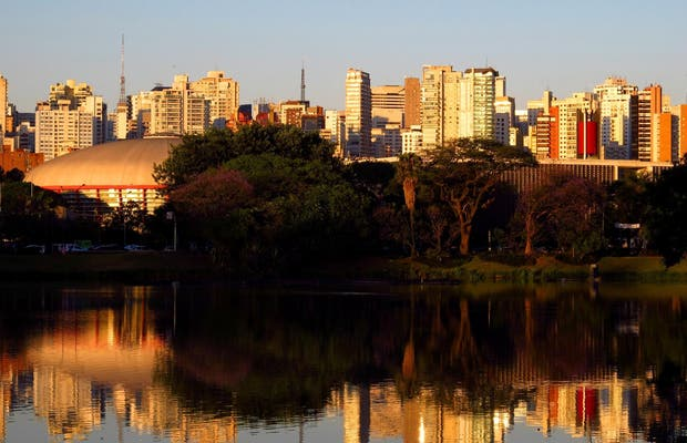 Lago do Parque Ibirapuera