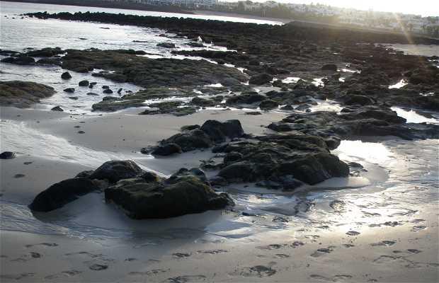 La plage los Charcos