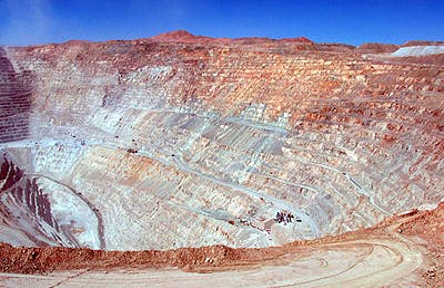 Calama y la mina de Chuquiquamata