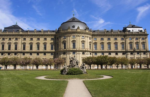 Würzburg Residence and the Court Gardens