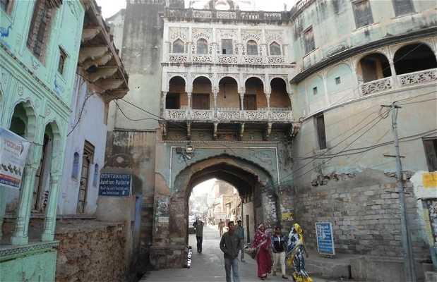 Puerta principal de Mandawa
