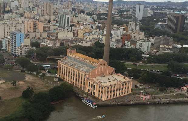 Sobrevoo de helicóptero em Porto Alegre