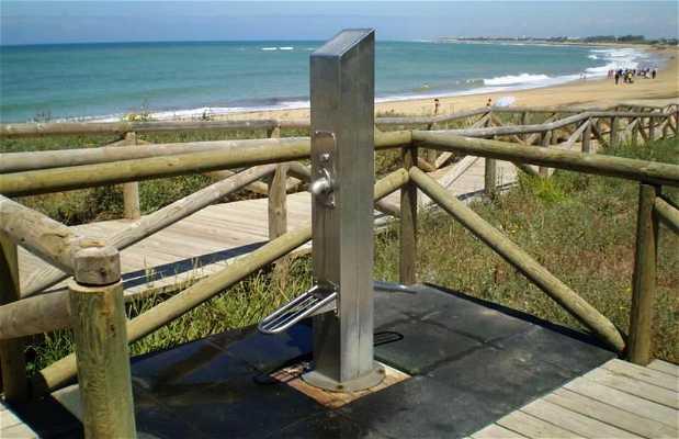 Spiaggia di Punta Candor a Rota