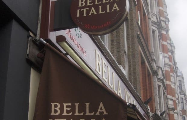 Bella Italia - Cranbourn Street
