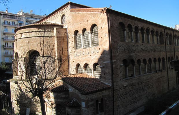 The Panayia Acheiropoietos (The Church of the Virgin Made Without Hands)