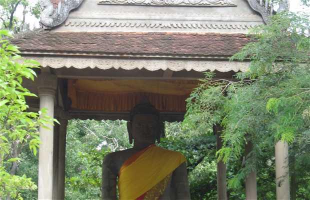 Santuário budista em Angkor Thom - Preah Ngok