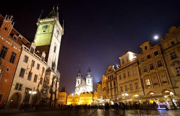 Place de la vieille ville (Staroměstské náměstí)