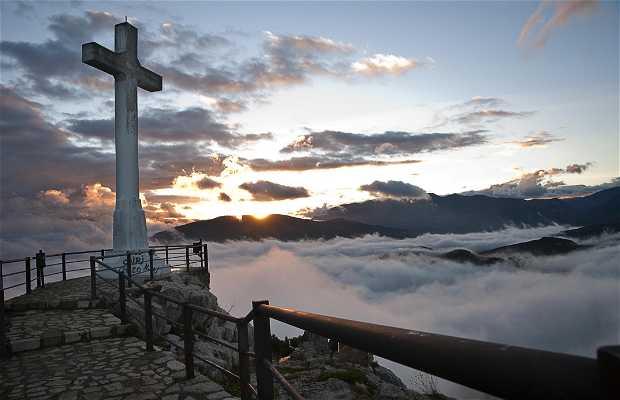La Cruz del Castillo de Jaén