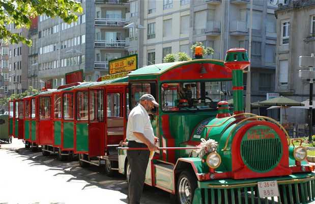 Tourist train of Pontevedra