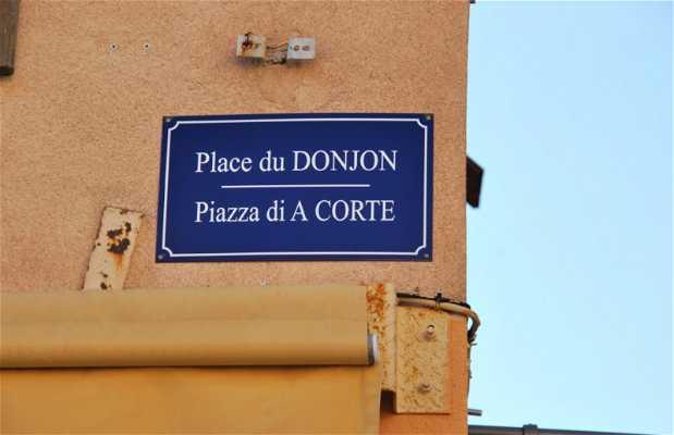 Plaza del Donjon