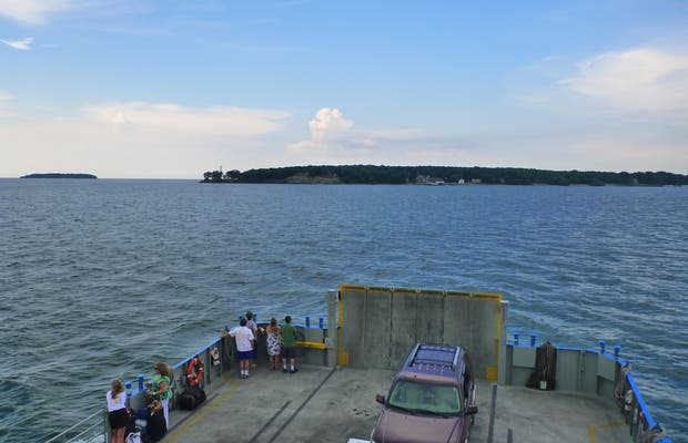Miller Ferry to Put-in-Bay and Middle Bass Island