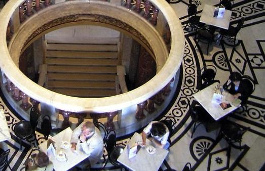 Cafe im Kunsthistorischen Museum