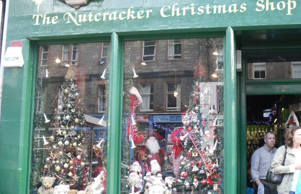 Nutcracker Christmas Shop