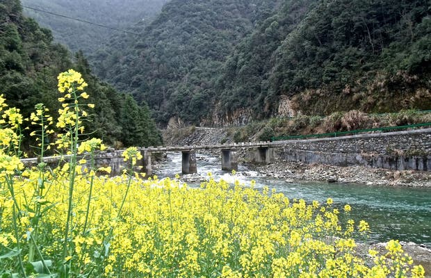 Trecking Baiji a Yanchishan