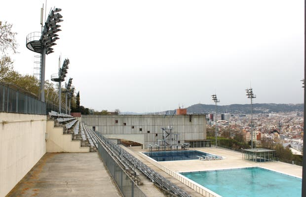 Piscina municipal de Montjuic