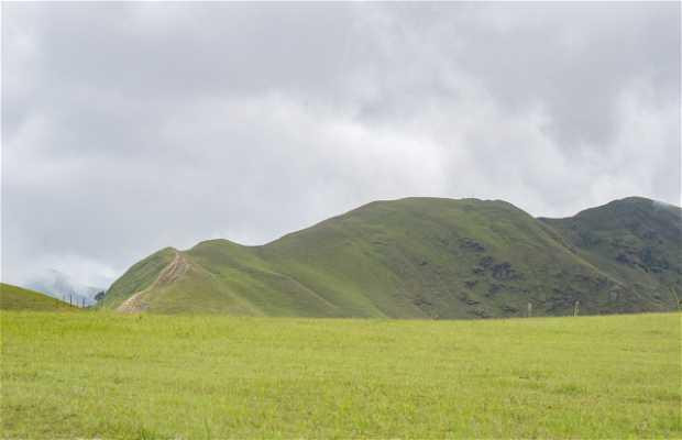 Ruta de Senderismo Los Topos - Pie de Cerro