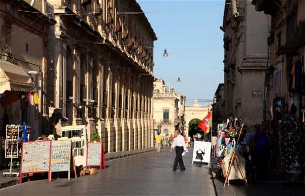 Corso Vittorio Emanuele III de Noto