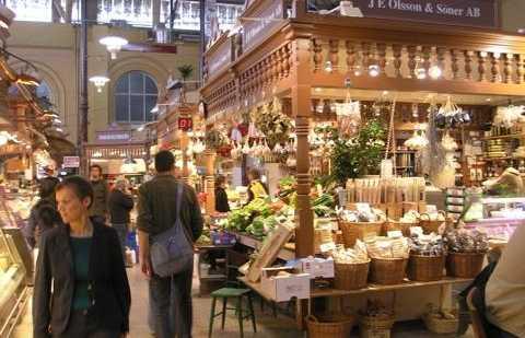 Östermalms Saluhall Market