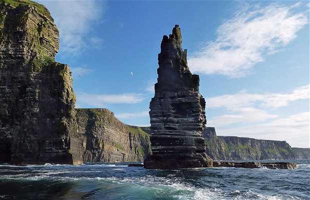 Cliffs of Moher desde el mar