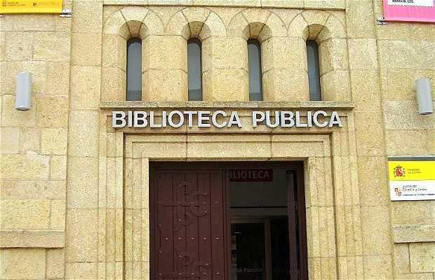 La Biblioteca Pubblica di Zamora