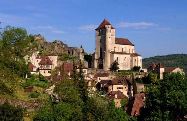 Castelo de Saint-Cirq-Lapopie