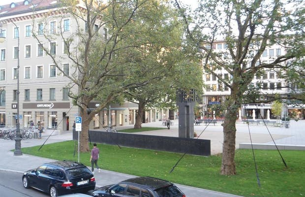 Place hommage aux victimes des nazis