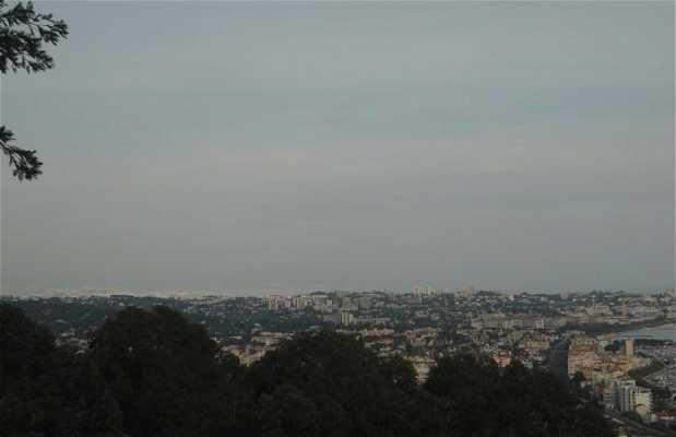 Vista desde el parque Paradou