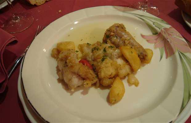 Restaurante del Hotel Husa Sancho Abarca