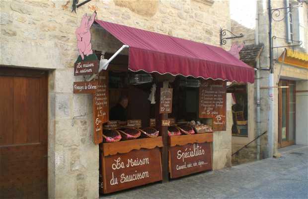La maison du saucisson rocamadour 2 exp riences et 1 photos - Faire du saucisson maison ...