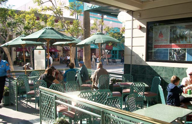 Santa Monica Place Food Court