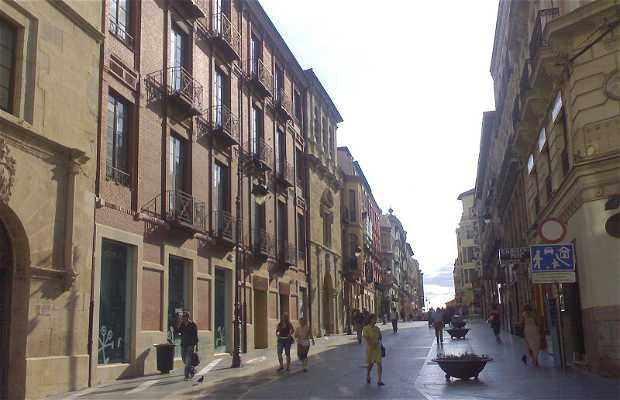 Calle Ancha a Leon