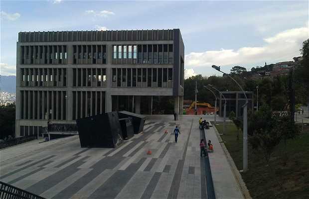 El parque biblioteca Gabriel Garcia Márquez