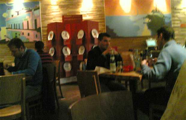 Restaurante Rossopomodoro centro comercial Le Corti