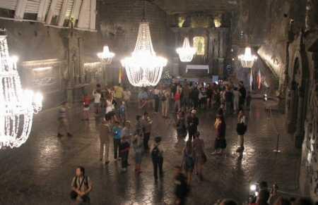 Catedral subterránea de la Sal en Polonia