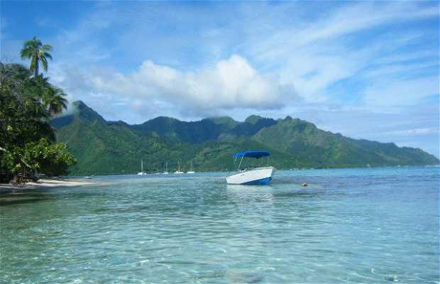 L'île de Tahiti
