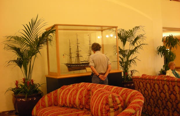 Restaurant OCEAMA dentro Hotel Raddisson