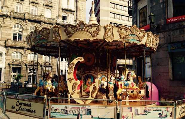Carrusel de la Plaza Princesa