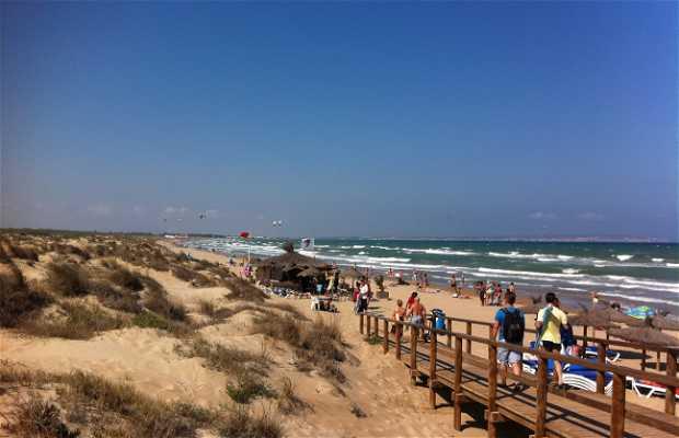 Playa Pesqueres - El Rebollo