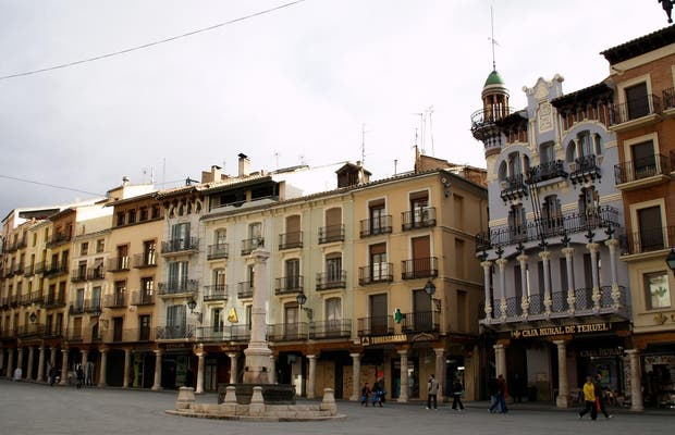 Plaza Mayor De Teruel