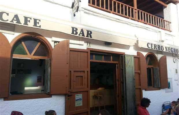 Cafe bar cerro negro