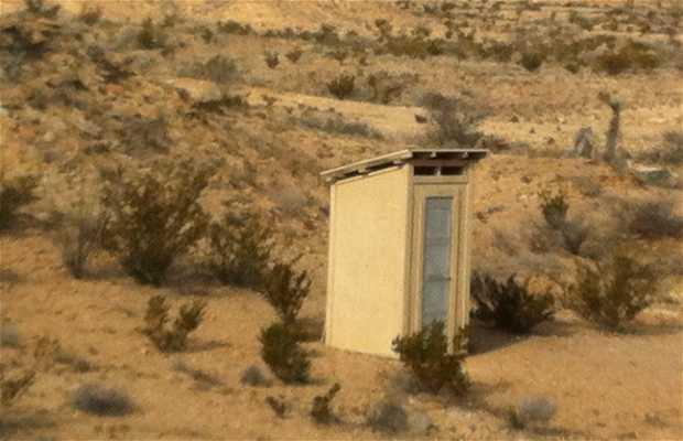 Dispositivo higiénico del desierto de Texas