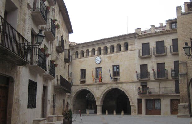 Calaceite Main Square