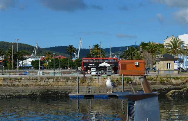 Pasear por el puerto de Ferrol