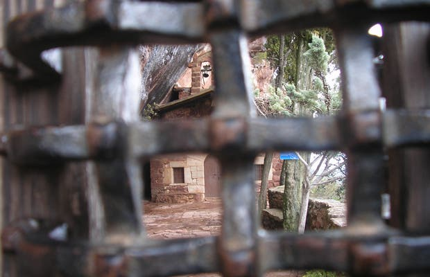 La ermita de la abellera de Prades