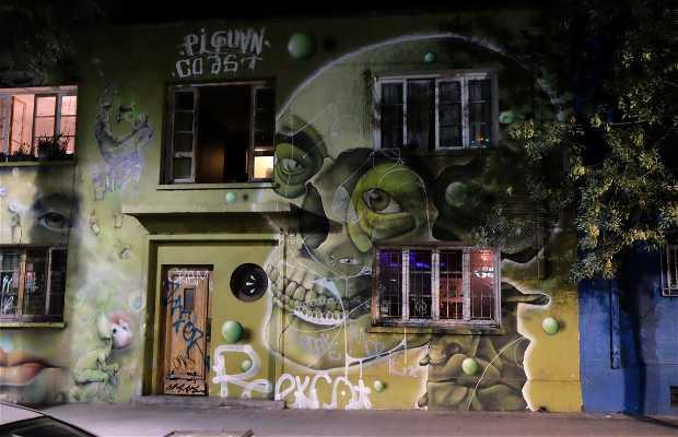 Grafites de Bellavista