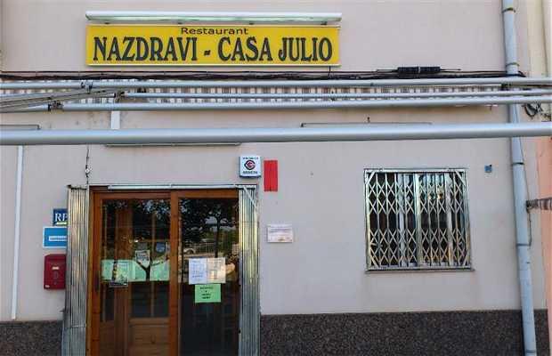Restaurante Nazdravi - Casa Julio