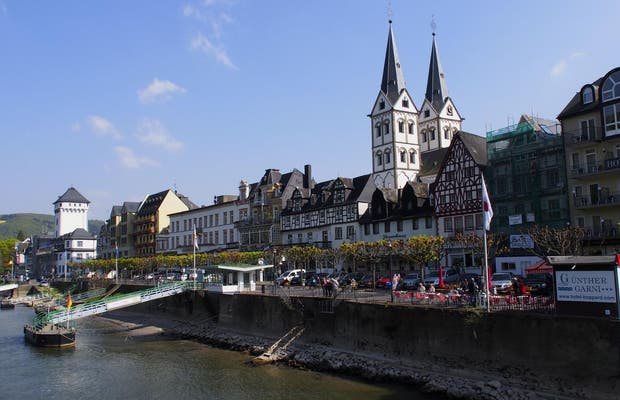 Ruta panorámica Rin en tren Mainz-Coblenza