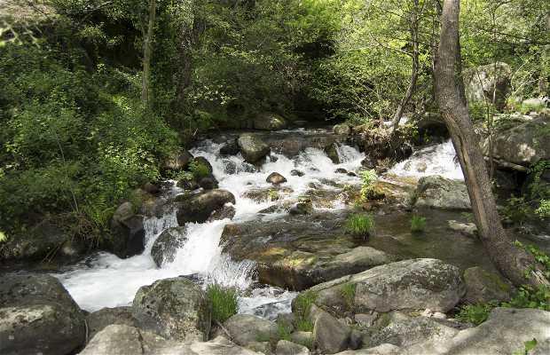 Cascada de las Navelongas